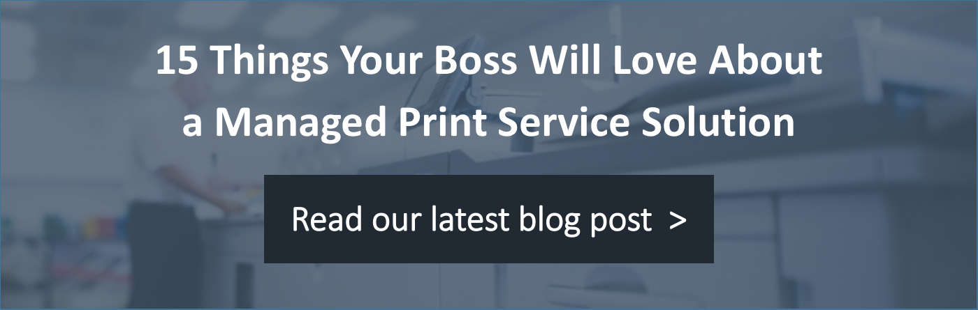 The Managed Print Services Process